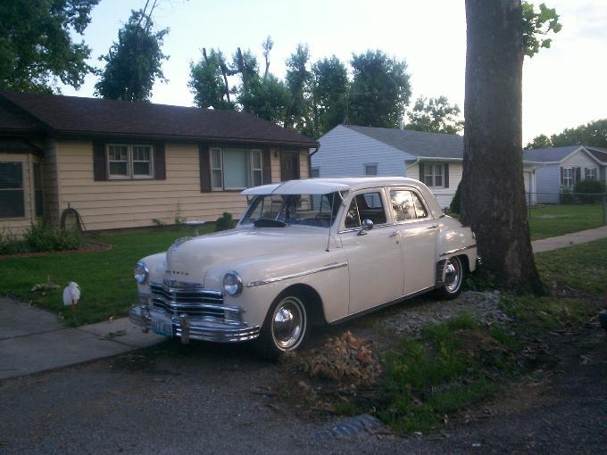 1949 Plymouth Special Deluxe 4 Door Sedan For