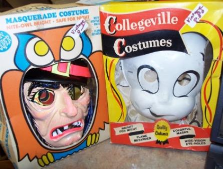 Vintage Halloween Costumes In A Box.Granite City Gossip Vintage Halloween Costumes