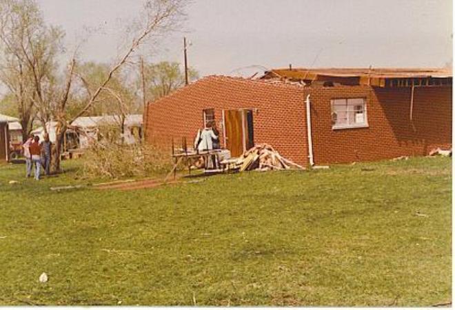 Eddleman Kite Collection Tornado Of 1982